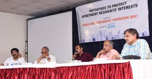 Bangalore Apartments Federation - Waste Water Management - Mr Nanda Kumar - Dr Ananth Kodavasal - Mr Srikanth Narasimhan - Dr T V Ramachandra - Mr Jaigopal Rao 2