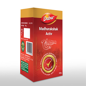 Dabur-madhurakshak-activ-corton - Ayurveda