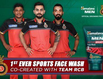 Himalaya Men Active Sport Facewash - Royal Challengers Bangalore