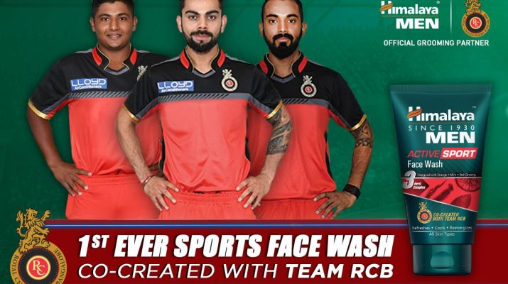 Himalaya Men Active Sport Facewash - Royal Challengers Bangalore