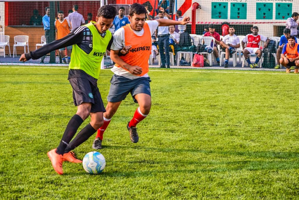 Indias largest rooftop football arena launched at Embassy Manyata Business Park