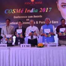 The domestic market for personal care products is projected to grow at a CAGR of around 22% during the period 2017-2020