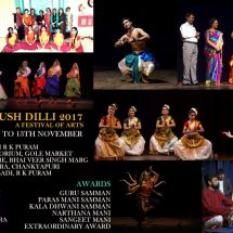 Final Dates of 10th Edition of Indradhanush Dilli 2017 Announced & Now It's Open for Sponsorship & Support