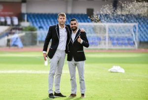 Juanan Gonzalez and Dimas Delgado - Tailorman - Suits Partner - Bengaluru Football Club
