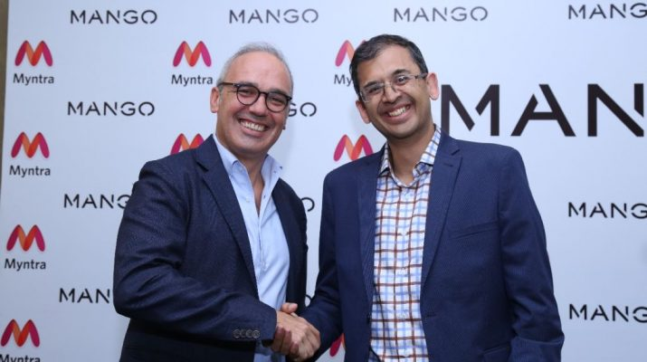 Mango opens its first store in Delhi with Myntra - Daniel Lopez and Ananth Narayanan