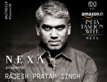 Nexa Show - AIFW SS18 - Rajesh Pratap Singh