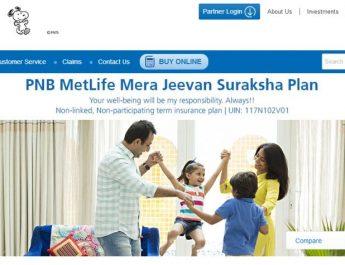 PNB MetLife launches Mera Jeevan Suraksha Plan - a life protection plan