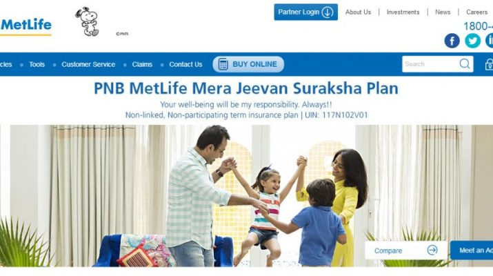 PNB MetLife launches Mera Jeevan Suraksha Plan - a life protection plan
