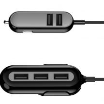 Portronics Launches 5 Port Car – Charger Car Power IV