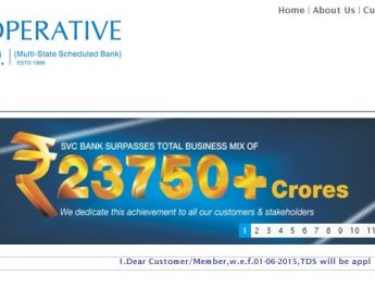 SVC Co-operative Bank - Home Page - Website