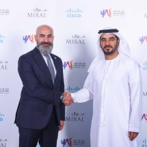 Cisco and Miral sign MoU to explore opportunities to advance the digitization journey for Yas Island, Abu Dhabi