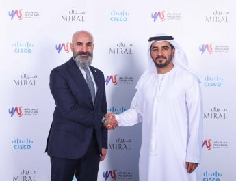 Shukri Eid - Cisco and Mohamed Abdalla Al Zaabi - CEO of Miral - digitization journey for Yas Island