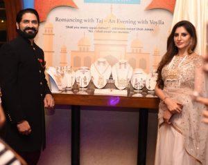 Vishwas Shringi Founder Voylla with Rashmi Sachdeva Mrs India