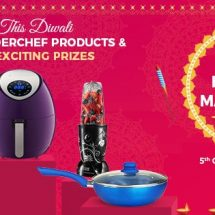 Gift Health this Diwali – Wonderchef brings in Festive Kitchenware to add to the spirit of celebration of Diwali