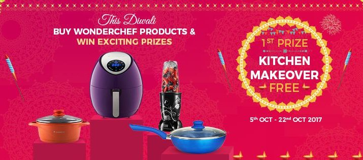 Wonderchef brings in Festive Kitchenware to add to the spirit of celebration of Diwali 2