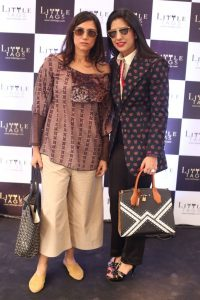 Designer Rina Dhaka with Chandni Agarwal - Little Tags