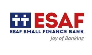 ESAF Small Finance Bank - Logo - Horizontal