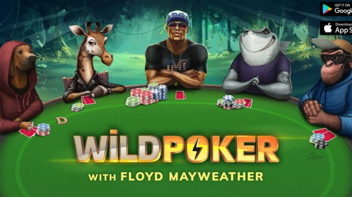 Floyd Mayweather Makes Mobile Gaming Debut as the Presenter of Wild Poker 1