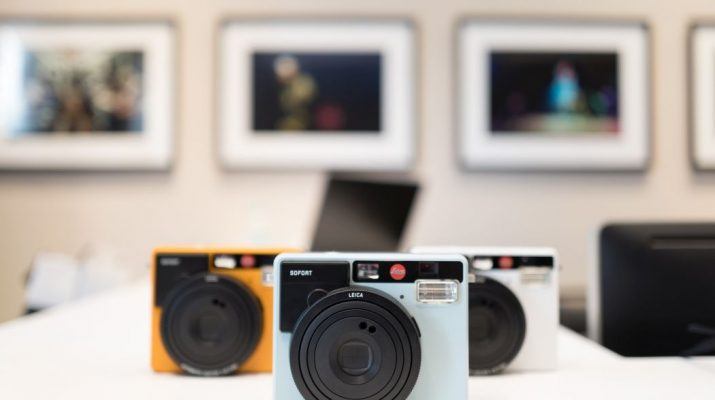 Leica Sofort Range at the launch of Leica Store in India