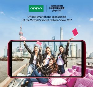 OPPO becomes Official Smartphone Sponsor of the most awaited Victorias Secret Fashion Show 2017