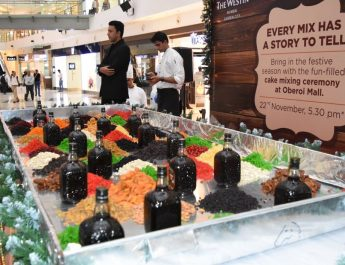 Oberoi mall hosts grand cake mixing ceremony at mall atrium 2