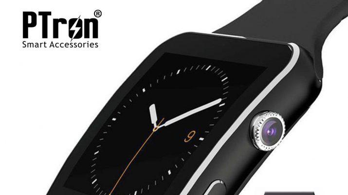 PTron Rhythm Smartwatch - Horizontal