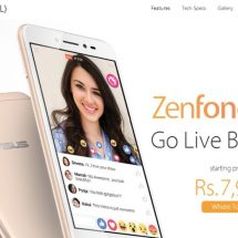 ASUS Zenfone Live is now available at an exciting new price