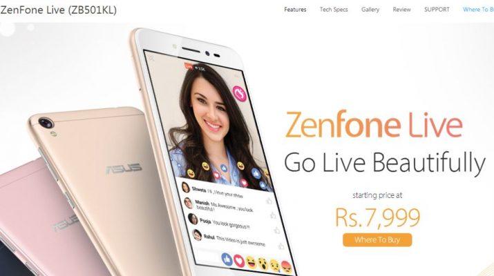 ASUS - ZenFone Live ZB501KL