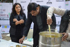 BIG FM NoKhaaliPet Campaign - Akshaya Patra Foundation 1