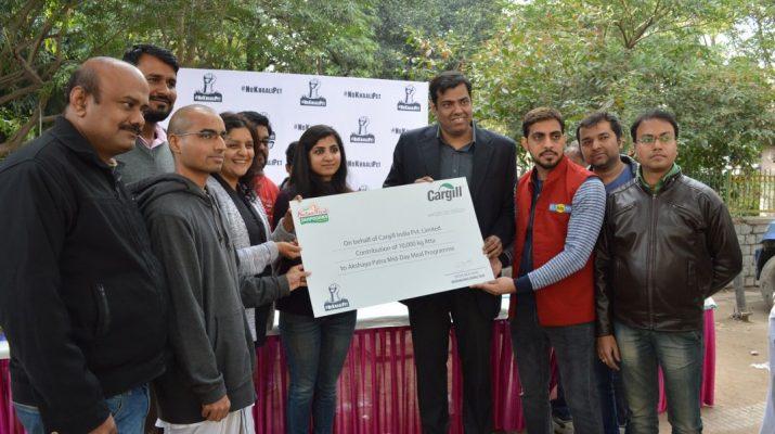 BIG FM NoKhaaliPet Campaign - Akshaya Patra Foundation 3