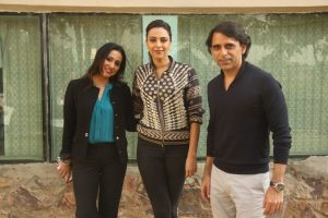 Bollywood Celebrity Swara Bhaskar with Dr Archana Nayar - Director - ACE and Mr Sameer