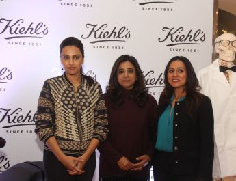 Bollywood Celebrity Swara Bhaskar with Shriti Malhotra - COO at Kiehls India - Dr Archana Nayyar - Founder at ACE