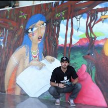 Stratford USA India campus creatively collaborates with Brazilian Graffiti Artist Michael Devis
