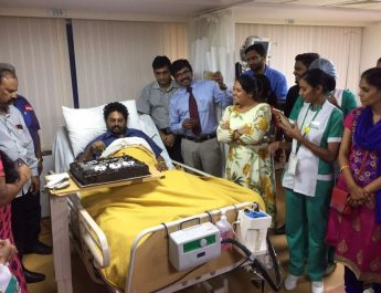Doctors at Fortis Hospitals - Cunningham road successfully treated a severe dengue struck patient