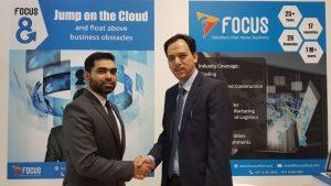 Focus Softnet - Fateh Ali - Director - left and Jawad Ali Khan - CEO - North America and APAC