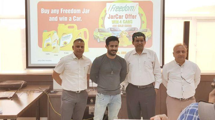 Freedom Refined Sunflower Oil announcesthe 1st Month winners of Freedom JARCAR OFFER