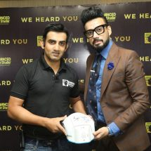 Gautam Gambhir launches Advanced Hair Studio's latest cutting edge procedures in the Indian market