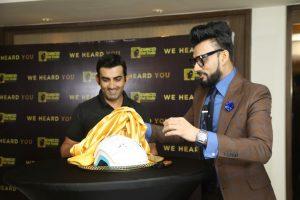 Gautam Gambhir launches Advanced Hair Studios latest cutting edge procedures in the Indian market