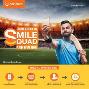 Gionee offers its loyal customers another reason to smile with international trips and more for grabs under Gionee Smile Squad 2