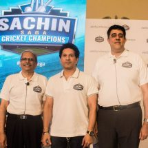JetSynthesys and Sachin Tendulkar launch Sachin Saga Cricket Champions