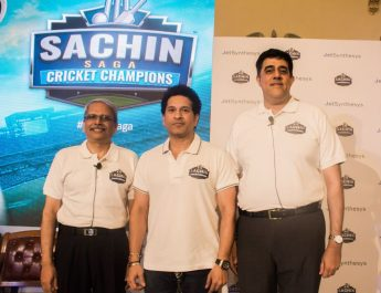 JetSynthesys and Sachin Tendulkar launch Sachin Saga Cricket Champions 2