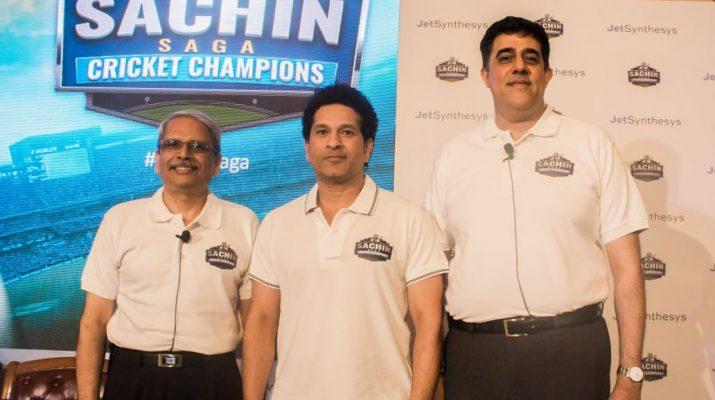 JetSynthesys and Sachin Tendulkar launch Sachin Saga Cricket Champions 2