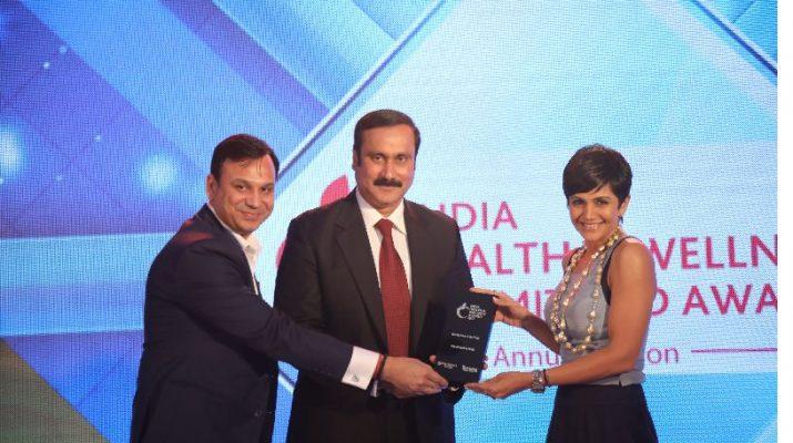 Mandira Bedi Awarded Health Icon of The Year Award 2