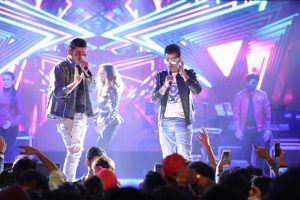 Meet Bros perform at the OPPO Times Fresh Face Delhi city finale