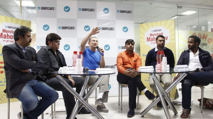 Merchant Mahotsav - Sanjay Sethi CEO and Co-founder - ShopClues with Potential Top Merchants 2