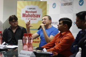Merchant Mahotsav - Sanjay Sethi CEO and Co-founder - ShopClues with Potential Top Merchants