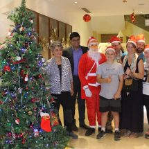 Mercure Hyderabad KCP ushers in the Festive Season with the Christmas Tree Lighting Ceremony