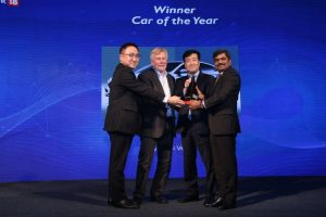 News18dotcom Tech and Auto Awards for 2017 - Winner - Car of the Year Award