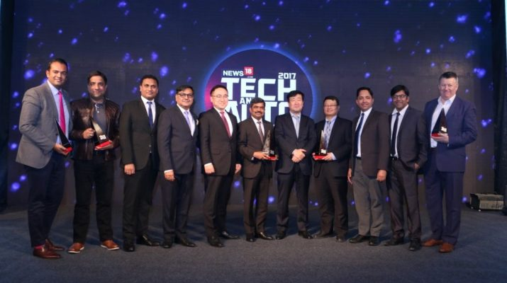 News18dotcom concludes the coveted Tech and Auto Awards for 2017 - Winners