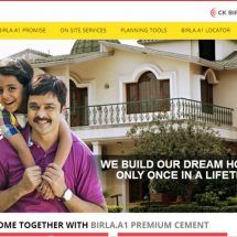Now build your dream home with the help of Birla A1 Cement's newly launched multilingual website